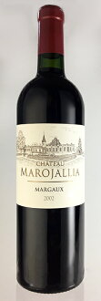 성・마로쟈리아[2002] AOC 마르고 Chateau Marojallia [2002] AOC Margaux