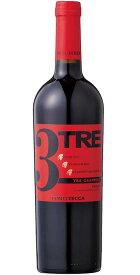 トレ・グラッポリ コンティ・ゼッカ [2017] (コンティ・ゼッカ)TRE grappoli Rosso Conti Zecca [2017] (Azienda Agricola Conti Zecca) 【赤 ワイン】【イタリア】【プーリア】