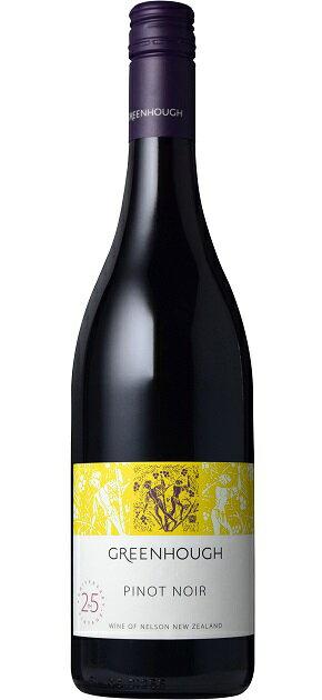 【よりどり6本以上送料無料商品】グリーンホフ ピノ・ノワール [2015] (グリーンホフ・ヴィンヤード)Greenhough Pinot Noir [2015] (Greenhough Vineyard) 【赤 ワイン】【ニュージーランド】