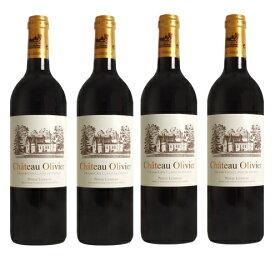 シャトー・オリヴィエ・ルージュ [2004] 4本セット Chateau Olivier Rouge [2004] 4bottles 【赤ワイン フランス ボルドー】