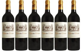 【送料無料】シャトー・オリヴィエ・ルージュ [2004] 6本セット Chateau Olivier Rouge [2004] 6bottles 【赤ワイン フランス ボルドー】