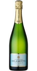ドゥラモット・ブリュット [NV] (ドゥラモット) Delamotte Brut [NV] (Delamotte) 【シャンパーニュ】 【スパークリング ワイン】