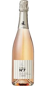 クレマン・ド・リムー ロゼ ナンバー・セブン [NV] (ドメーヌ・ジ・ロレンス) Cremant de Limoux la Rose No.7 [NV] (Domaine J.Laurens) 【スパークリング ワイン フランス】
