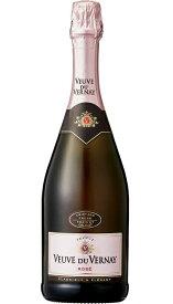 ヴーヴ・デュ・ヴェルネ ロゼ [NV] (クリテール・ブリュット・ド・ブリュット) Veuve du Vernay Rose [NV] (Kriter Brut de Brut) 【ロゼ スパークリングワイン フランス】