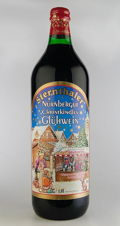 [ホットワイン] シュテルンターラー・グリューワイン [NV] 1,000ml Sternthaler Gluhwein [NV] 1,000ml 【ホットワイン 甘口】【赤 ワイン】【甘口】【ドイツ冬の風物詩】