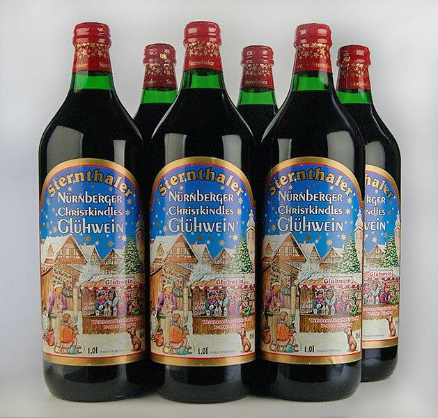 【送料無料】【ホットワイン】 シュテルンターラー・グリューワイン 1000ml [6本セット]Sternthaler Gluhwein 1000ml 6set 【うち飲み】【甘口】【送料無料/一部地域は除く】