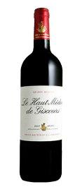 ル・オー・メドック・ド・ジスクール [2014] AOCマルゴー・メドック格付第3級 サード・ワイン Le Haut Medoc de Giscours [2014] AOC Margaux 【赤 ワイン】フランス ボルドー オー・メドック AOCオー・メドック