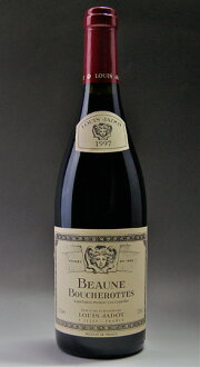 It is Beaune 1er Cru Boucherottes [1997] (Louis Jadot) (Louis ジャド) Beaune pull Mie クリュレ ブシェロット [1997]
