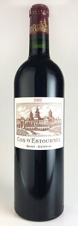AOC AOC Estèphe Chateau Cos d'Estournel and Château-Kos-death Turner [2002] MEDOC rating level 2 [2002] Saint-Estephe
