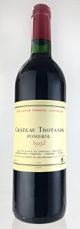 Chateau-trot now, 1992 Chateau Trotanoy [1992]