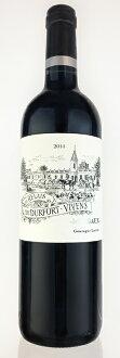 ru·rure·do·deyuruforu·vivan[2014]AOC marugomedokku排名第2级第二葡萄酒Le Relais de Durfort Vivens[2014]AOC Margaux