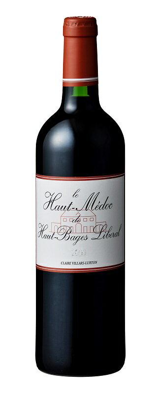 ル・オー・メドック・ド・オー・バージュ・リベラル [2007] AOC オー・メドック格付第5級 Le Haut Medoc de Haut Bages Liberal [2007] AOC Haut Medoc 【赤 ワイン】