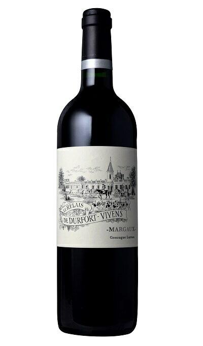 【6本〜送料無料】ル・ルレ・ド・デュルフォール・ヴィヴァン [2015] AOCマルゴーメドック格付第2級 セカンドワイン Le Relais de Durfort Vivens [2015] AOC Margaux 【赤 ワイン】【フランス】【ボルドー】