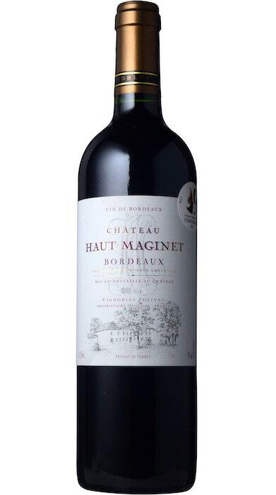 シャトー・オー・マジネ ルージュ [2016] AOCボルドーChateau Haut Maginet Rouge [2016] AOC Bordeaux 【赤 ワイン】【フランス】【ボルドー】