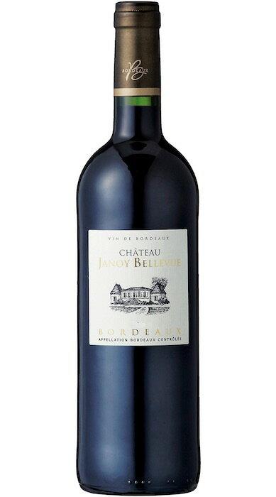 シャトー・ジャノワ・ベルヴュー・ルージュ [2016] AOCボルドーChateau Janoy Bellevue Rouge [2016] AOC Bordeaux 【赤 ワイン】【フランス】