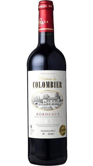 【6本〜送料無料】シャトー・デュ・コロンビエール [2015] AOCボルドーChateau du Colombier [2015] AOC Bordeaux 【赤 ワイン】【フランス】