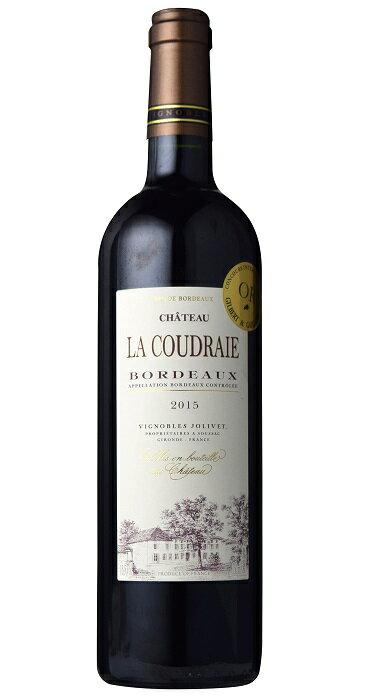 金賞受賞ワイン シャトー・ラ・クードレ [2015] AOCボルドーChateau La Coudraie [2015] AOC Bordeaux 【赤 ワイン】【フランス】