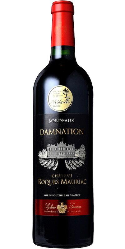 【6本〜送料無料】ダムナシオン [2015] AOCボルドー Damnation [2015] AOC Bordeaux 【赤 ワイン】【フランス】