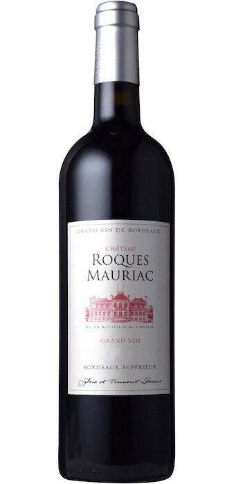 【6本〜送料無料】シャトー・ロック・モリアック [2012] AOCボルドー・スペリュールChateau Roques Mauriac [2012] AOC Bordeaux Bordeaux Superieur 【赤 ワイン】【フランス】