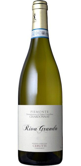 【6本〜送料無料】リーヴァ グランダ ピエモンテ シャルドネ [2014] (チェルッティ)Riva Granda Piemonte Chardonnay [2014] (Azienda Agricola Cerutti) 【白 ワイン】【イタリア】