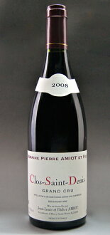 Clos Saint Denis Grand Cru [2008] (Pierre Amiot) Clos Saint Denis Grand Cru [2008] (Pierre Amiot)