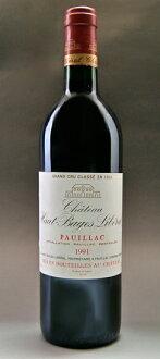 Chateau オー バージュ liberal [1991] Chateau Haut Bages Liberal [1991]