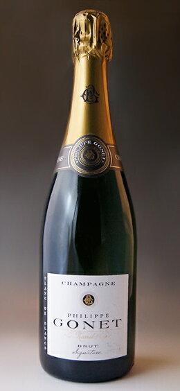 ブラン・ド・ブラン・ブリュット[NV](フィリップ・ゴネ)BlancdeBlancsBrut[NV](PhilippeGonet)【スパークリングワイン】【シャンパーニュ】