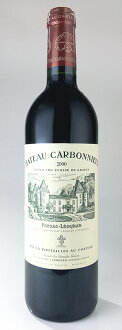 성・칼보 뉴・루즈[2001] AOC 페삭크・레오날・그라브그란・크류・쿠랏세 Chateau Carbonnieux Rouge [2001] AOC Pessac Leognan