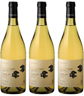 Tamba Torii field Chardonnay (Chardonnay) 750 ml 3 book set (Tamba wines)
