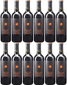 [12本セット] ファンティーニ・プリミティーヴォ [2017] (ファルネーゼ・ヴィニ) Fantini Primitivo [2017] (Farnese Vini) 【赤ワイン イタリア プーリア】