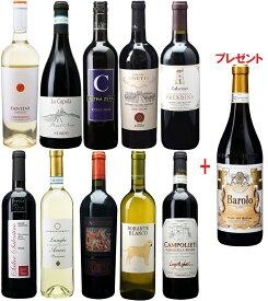 【輸入元協賛】採算度外視シニアソムリエ厳選ワインセット Dコース イタリアワインセット10本+1本おまけ付き