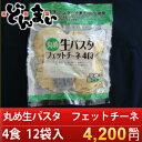 【1食88円!】『丸め生パスタ フェットチーネ48食』【お得な業務用サイズ!】