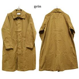 grinグリン【2019 AW】コットンチノオーバーコートカラー:600 ベージュサイズ:2