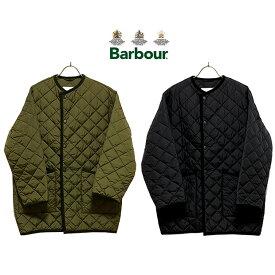 【日本代理店正規品】Barbour[LADY'S]バブアー[レディース]LADIES QUILTED NO COLLAR COAT OS NYLONキルト ノーカラーコート オーバーサイズ ナイロン