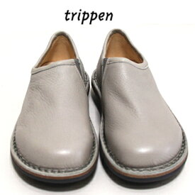 Trippenトリッペン【trippen 正規販売店】スリッポン・シューズカラー:SLV-GY (ライトグレー)