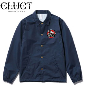 SALE・50%OFF【セール】CLUCT[クラクト] - COACH JKT RISE ABOVE - グラフィックプリントコーチジャケット※日本国内 送料・代引手数料無料※ 本品はポイント+1倍です!