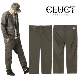 CLUCT[クラクト] - VINTAGE PANTS - ヴィンテージ加工ヘリンボーン生地パンツ※日本国内送料・代引手数料無料※