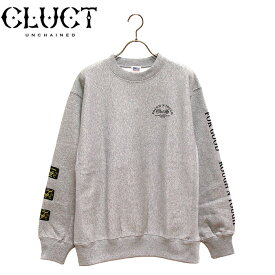 CLUCT[クラクト] - CC-ROUGH N TOUGH SW - プリントデザインスウェットクルー(トレーナー)※日本国内送料・代引手数料無料※