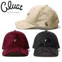 CLUCT [クラクト] - CLT-SUEDE CAP - 刺繍デザインフェイクスウェードキャップ SIZE:FREE 本品はポイント+1倍です!