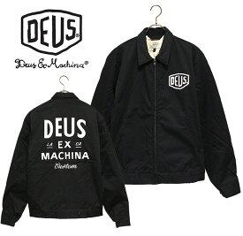 DEUS EX MACHINA(デウスエクスマキナ) - Workwear Jacket - ロゴデザイン裏キルト中綿ワークジャケット※送料無料・代引手数料無料※ 【日本代理店正規品】