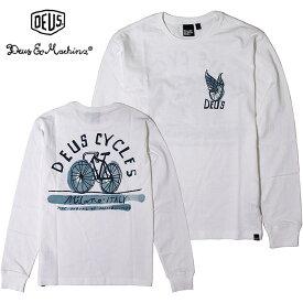 DEUS EX MACHINA(デウスエクスマキナ) - Chamberline Ls Tee - バックアートプリント長袖Tシャツ【日本代理店正規品】