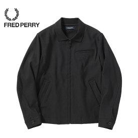 FREDPERRY[フレッドペリー] - Rib Collar Jacket - ストレッチツイルジャケット※日本国内 送料・代引手数料無料※【日本代理店正規品】