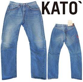 ☆日本国内 送料・代引手数料無料☆ KATO`(カトー) - 3D Denim Pants - 13.5ozウォッシャブル加工3Dデニムパンツ[正規取扱品]