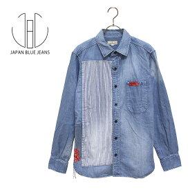 JAPAN BLUE JEANS(ジャパンブルージーンズ)リメイクデニムシャツ☆日本国内 送料・代引手数料無料☆【正規取扱品】