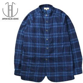 JAPAN BLUE JEANS(ジャパンブルージーンズ)スタンドカラーシャツジャケット☆日本国内 送料・代引手数料無料☆【正規取扱品】