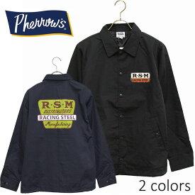 PHERROW'S(PHERROWS)/フェローズプリントデザインコーチジャケット※日本国内送料無料・代引手数料無料※本品はポイント+4倍です!
