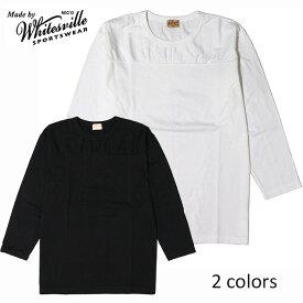 WHITESVILLE (ホワイツビル)[東洋エンタープライズ] 丸胴フットボール9分袖Tシャツ本品はポイント+1倍です!