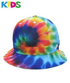 10%offクーポン配付中◆メール便送料無料 ニューエラ キッズ ハット NEW ERA Kid's Explorer カラータイダイ ホワイトフラッグロゴ 11901028 キャップ 帽子 エクスプローラー[FS]