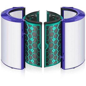 ダイソン(dyson)互換 TP/DP/HP 空気清浄機能付ファン交換用 TP04 DP04 HP04 用フィルター グラスHEPAフィルター (非純正)