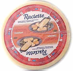 ★送料無料★【ラクレット(約5.5kg)】6ヶ月以上熟成スイス産プロ用ホールチーズ業務用サイズならとってもお買い得【smtb-t】